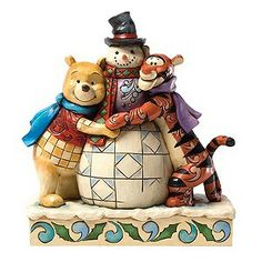Disney Traditions - Winter Hugs With Pooh & Tigger - Product number 1131125