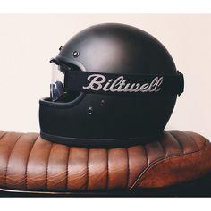 Helmet, Biltwell, rider, bikes, speed, cafe racers #motorcycles