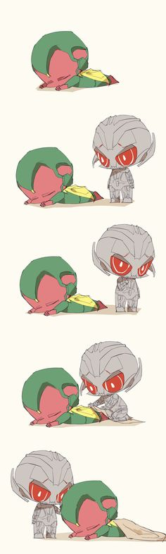 Baby Vision & Ultron
