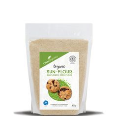 Organic Sun-Flour, Sunflower Seed Flour - Ceres - Organic Food Distributors - Ceres Organics Ceres Organics, Food Distributors, Sunflower Seeds, Protein Foods, Almond Recipes, Organic Recipes, Meals, Sweet, High Protein Foods