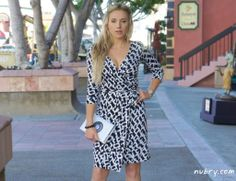 DVF Wrap Dress: How To Wear For Work | Nubry - San Diego's #1 Fashion, Beauty, Events And Lifestyle Blog - What To Wear, Insider Tips, & Celebrity Trends