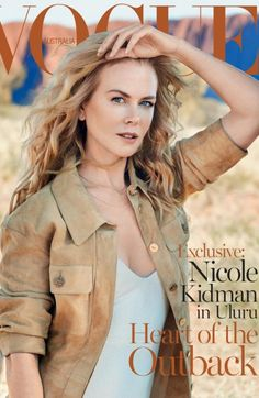 Nicole Kidman: Vogue Australia, September 2015