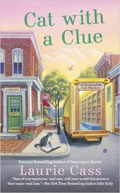 Special Guest - Laurie Cass - Author of Cat With A Clue - #Giveaway too!