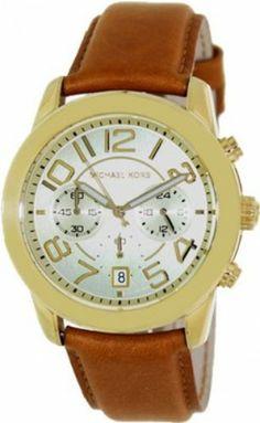 a651bdb0b67 Relógio Michael Kors Champagne Dial Brown Leather Ladies Watch MK2251   Relogios  MichaelKors Relógio Mundial