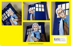 Peter Cushing As The Doctor  Window/Wall Art