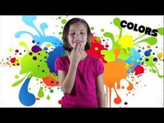 colors SONG - learn your ASL colors