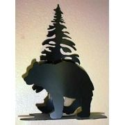 Bear Tree Candle Holder