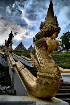Wat Kaew - Krabi, Thailand. Amazing town, amazing architecture, even more amazing people. http://bit.ly/HZJlBE