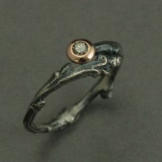Hey, I found this really awesome Etsy listing at https://www.etsy.com/listing/184235992/heart-of-the-forest-engagement-ring