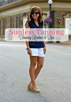 Healthy Sunless Tanners for a summer  glow