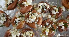 As seen on Allison Dady's FB page! Baked Rosemary Feta Potatoes