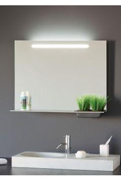 Espejo ba o con luz led blanco espejos de ba o con luz pinterest house - Espejo retroiluminado bano ...