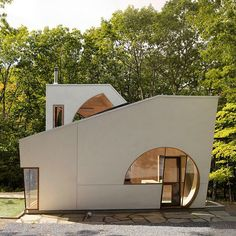 Steven Holl carves boolean voids from artist hideaway in New York state