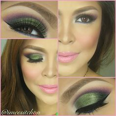Moss green eyeshadow @ imeesitchon