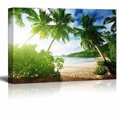 Canvas Prints Wall Art - Beautiful Tropical Scenery/Lands... https://www.amazon.com/dp/B00UWSJOWA/ref=cm_sw_r_pi_dp_x_xsRfyb8JCR04M