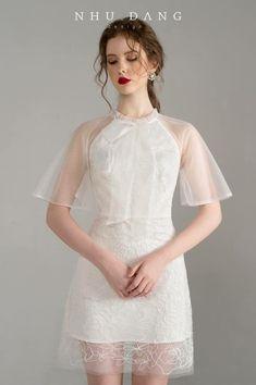 Look Fashion, Girl Fashion, Fashion Design, Chifon Dress, Pretty Dresses, Beautiful Dresses, Dress Outfits, Fashion Dresses, Short Dresses
