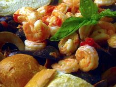 Mussels, Clams and Shrimp in Spicy Broth Recipe | Giada De Laurentiis | Food Network