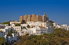 The Monastery of St. John in Patmos, Greece