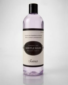 Soma's Lingerie Gentle Wash - for washing delicates on the go.@A Whole Lotta Love Chico's