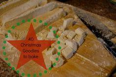 40 (gluten free) Christmas goodies