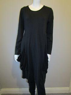 Lagenlook clothing tunic 1983 black