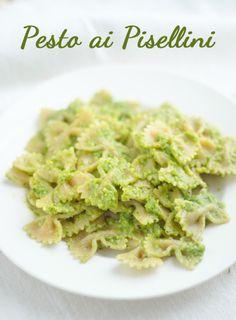 Green Peas #Pesto #Pasta! #vegan