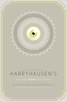 Pixar Establishments: Harry Hausen's