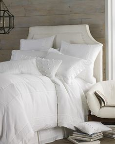 %22Bianca%22+Bed+Linens+by+Charisma+at+Neiman+Marcus.