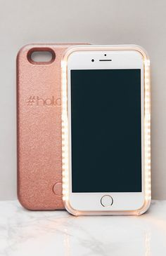LED Selfie Case for iPhone 6/6S - Rose Gold
