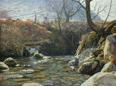 Peter Barker Art Boards, Landscape Paintings, Around The Worlds, Artist, Master Art, Outdoor, Rivers, Palette, English