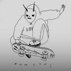skaty perry  . . . #drawing #illustration #sketch #art #skate