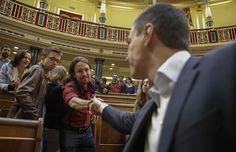 Sánchez aún confía en un pacto regeneracionista para convencer a Iglesias y Rivera
