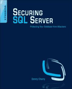 There is a lot at stake for administrators taking care of servers, since they house sensitive data like credit cards, social security numbers, medical records, and much more. In Securing SQL Server you will learn about the potential attack vectors that can be used to break into your SQL Server database, and how to protect yourself from these attacks.