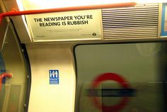 The Newspaper You're Reading is Rubbish