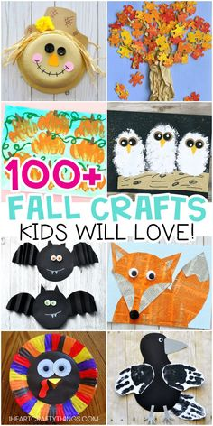 Easy Fall Crafts for Kids Arts and Crafts Ideas for Children. Fun and easy. Handwerk für Kinder , Easy Fall Crafts for Kids Arts and Crafts Ideas for Children. Fun and easy. Easy Fall Crafts for Kids Arts and Crafts Ideas for Children. Fall Arts And Crafts, Easy Fall Crafts, Thanksgiving Crafts For Kids, Fun Crafts, Arts And Crafts Projects, Autumn Crafts For Kids, Fall Crafts For Preschoolers, Fall Toddler Crafts, Decor Crafts