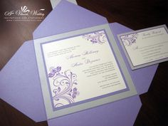 purple and turquoise wedding invitations Check more image at http://bybrilliant.com/2849/purple-and-turquoise-wedding-invitations