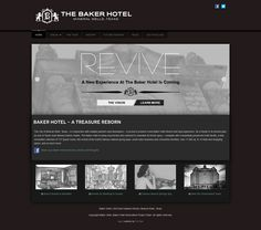 The Baker Hotel of Mineral Wells, Texas; website by Pro Epic. http://www.thebakerhotel.com/