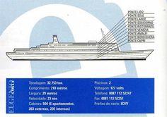 Recordando o Eugenio C - Portogente Costa, Cruise Ships, Titanic, Air, Cruises, Ships, Swiming Pool