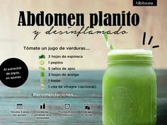 p/jugo-de-verduras-para-abdomen-plano-habitos-health-coaching delivers online tools that help you to stay in control of your personal information and protect your online privacy. Smoothies Detox, Juice Smoothie, Detox Drinks, Healthy Smoothies, Healthy Drinks, Nutrition Drinks, Healthy Juices, Healthy Tips, Healthy Recipes