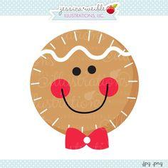 Gingerbread Boy Face