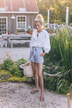 Garden Tour Summer 2018 (Little Blonde Book) Mode Outfits, Short Outfits, Fashion Outfits, Fashion Tips, Womens Fashion, Fashion Ideas, Fashion Styles, Woman Outfits, Fashionable Outfits