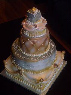 Les gâteaux de Marie: Premier gâteau de mariage 2010