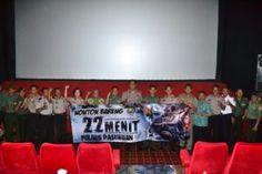 Polres Pasuruan Gelar Nobar Film Kisah Bom Thamrin