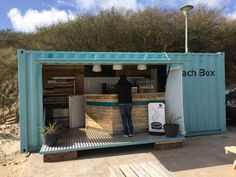 Quality Container Conversion into Take-away Cafe in Business, Office &… More