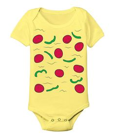 Love this Banana Pizza Bodysuit - Infant by Tuxedo Tees on #zulily! #zulilyfinds