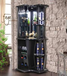 "Get wonderful pointers on ""bar furniture"". They are actually offered for you on our web site. Barra Bar, Bar Counter Design, Home Bar Cabinet, Corner Bar, Bar Unit, Indoor Bar, Home Bar Furniture, Built In Bar, Home Bar Designs"