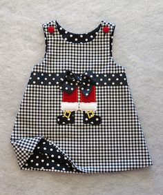 Take a look at this Katie Bug Casuals Black & White Shepherd's Check Santa Legs Jumper - Toddler on zulily today! Little Dresses, Little Girl Dresses, Cute Dresses, Girls Dresses, Toddler Dress, Toddler Outfits, Kids Outfits, Sewing For Kids, Baby Sewing