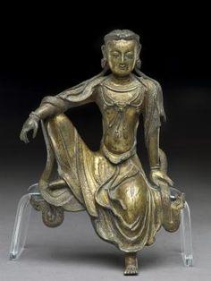 Bodhisattva Avalokitesvara, Yuan dynasty (gilt bronze) 1279-1368