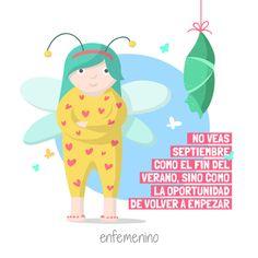 ¡Bienvenido #septiembre! #elmundodeMartina #frasedeldía