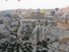 Goreme - Fotografia: Paulo Portugal Pamukkale, Ankara, Capadocia, Natural, Mount Rushmore, Portugal, Mountains, Travel, Lakes